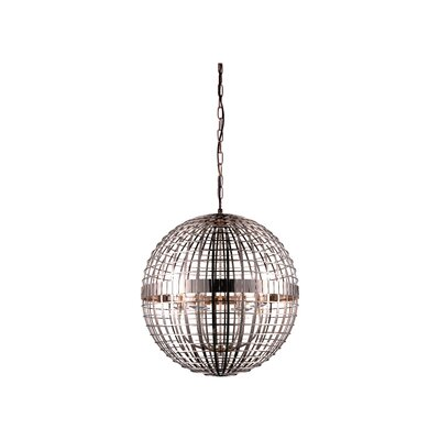 Niya 5-Light Globe Pendant Finish: French Gold