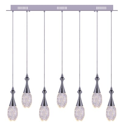 Dior 7-Light LED Kitchen Island Pendant