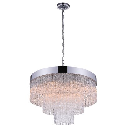 Carlotta 9-Light Crystal Chandelier