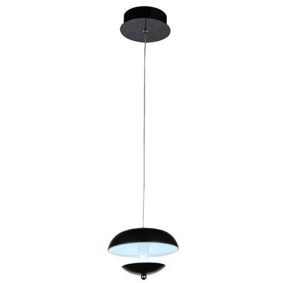 Aviva 1-Light LED Mini Pendant Finish: Bright Nickel