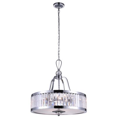 Belvoir 5-Light Drum Pendant