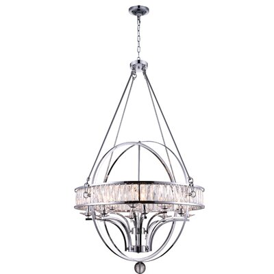 Arkansas 12-Light Candle-Style Chandelier