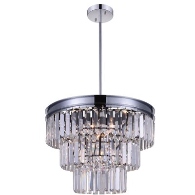Weiss 5-Light Crystal Chandelier