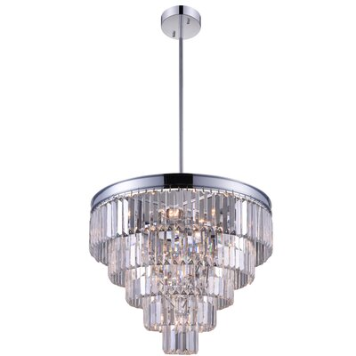 Weiss 7-Light Crystal Chandelier