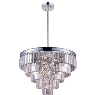 Weiss 12-Light Crystal Chandelier