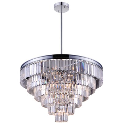 Weiss 15-Light Crystal Chandelier