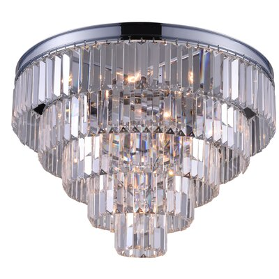 Weiss 7-Light Flush Mount