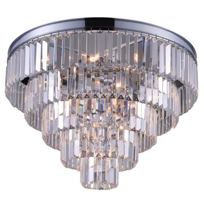 Weiss 12-Light Flush Mount