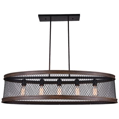 Torres 5-Light Kitchen Island Pendant
