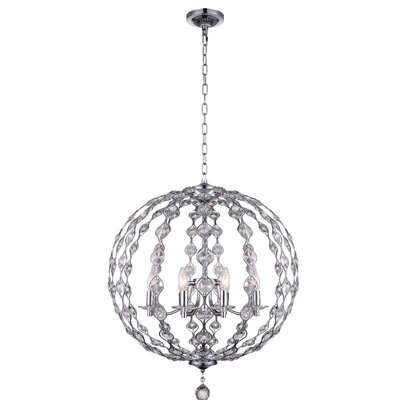 Esia 8-Light Globe Pendant