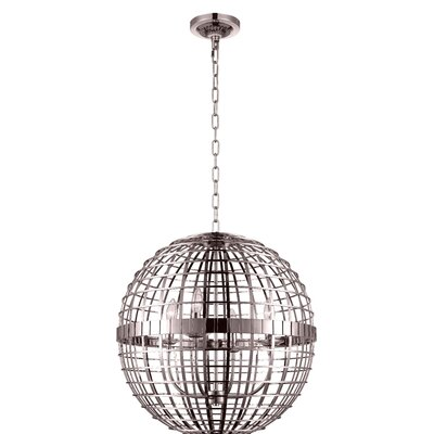 Niya 4-Light Globe Pendant Finish: French Gold