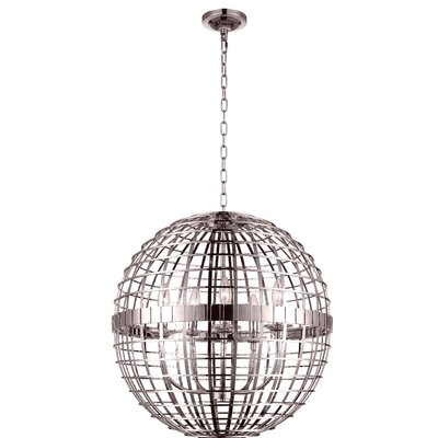 Niya 6-Light Globe Pendant Finish: French Gold