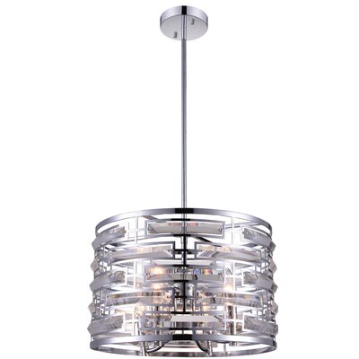 Petia 4-Light Drum Pendant