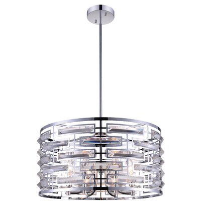 Petia 6-Light Drum Pendant