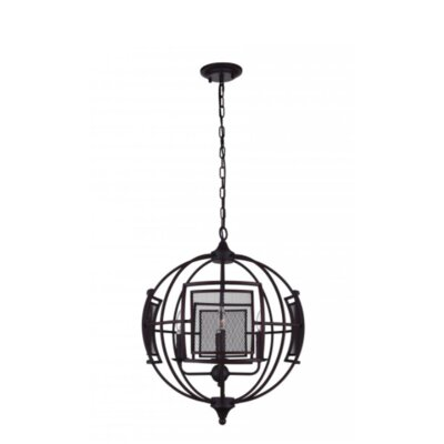 Alistaire 4-Light Globe Chandelier