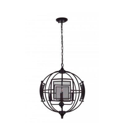 Alistaire 4-Light Globe Chandelier