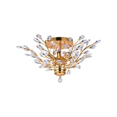 6-Light Semi Flush Mount