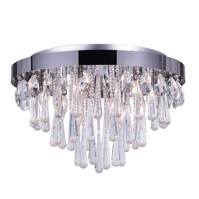 Vast 8-Light Flush Mount