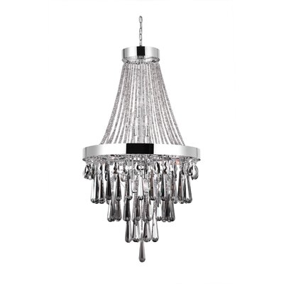 Vast 13-Light Empire Chandelier Crystal Color: Smoke