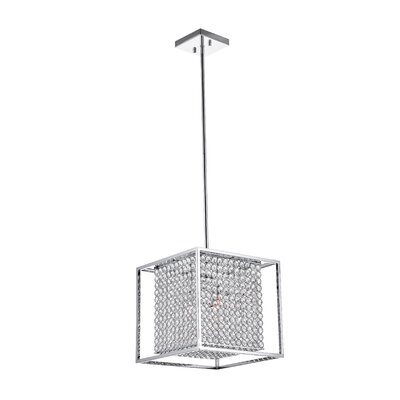 Cube 3-Light Mini Chandelier