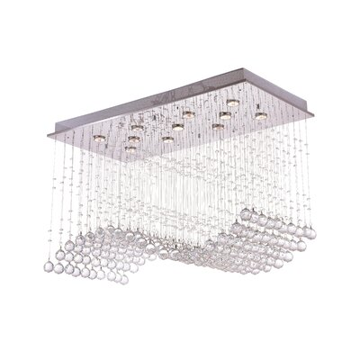 Twinkle 11-Light Flush Mount