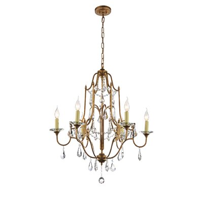 Electra 6-Light Candle-Style Chandelier