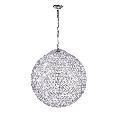 Globe 9-Light Crystal Chandelier
