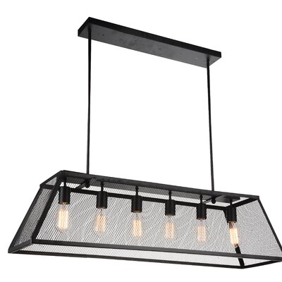 Macleay 6-Light Kitchen Island Pendant