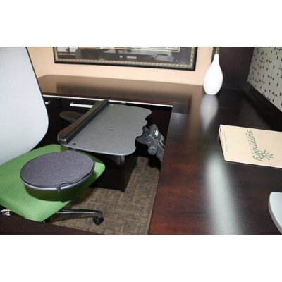 0.25 H x 19 W Desk Keyboard Tray
