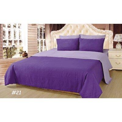 Tache Home Fashion Comforter Set - Color: Purple Lavender Size: Queen