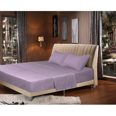 Tache Home Fashion 1000 Thread Count Sheet Set - Size: King, Color: Lavender