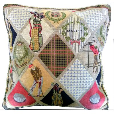 Day on the Course Pillow Cover