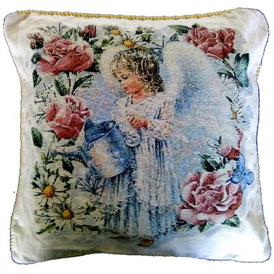 Angel In the Garden PIllow Cover