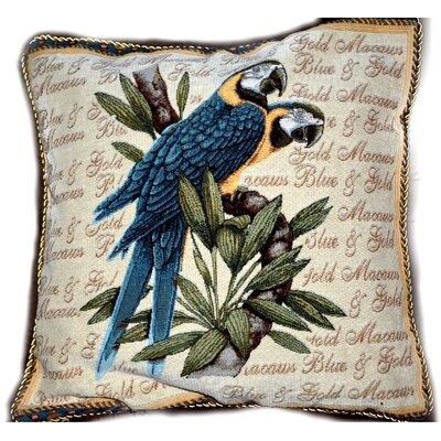 Birds of Paradise Cushion Cover