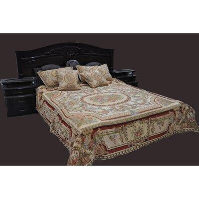 Tache Home Fashion Roman Garden Bedspread Set - Size: Twin