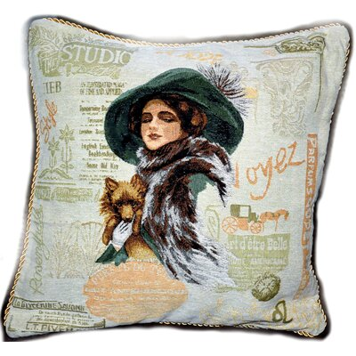 Puppy Day Out Cushion Cover