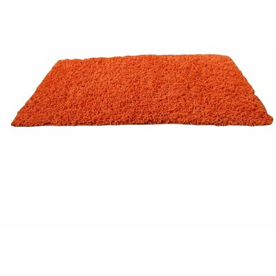 Chenille Orange Area Rug Rug Size: 6' x 9'