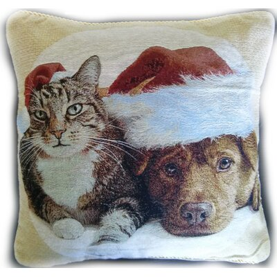 Best Friends Christmas Pillow Case