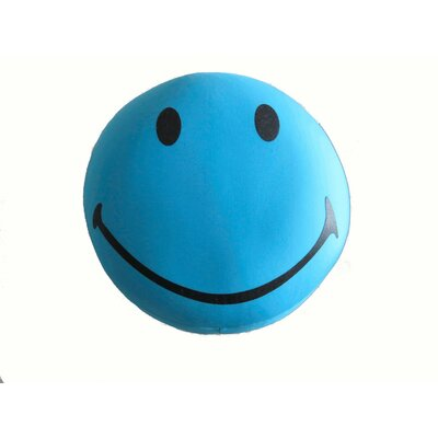 Im So Happy Expressive Face Indoor/Outdoor Throw Pillow