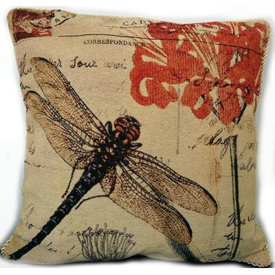 Fly High Dragon Fly Pillow Case