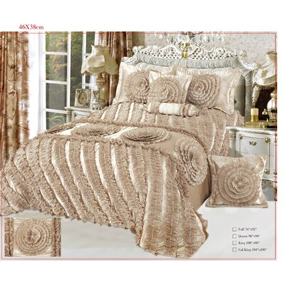 Harvest Moon 6 Piece Comforter Set Size: Queen