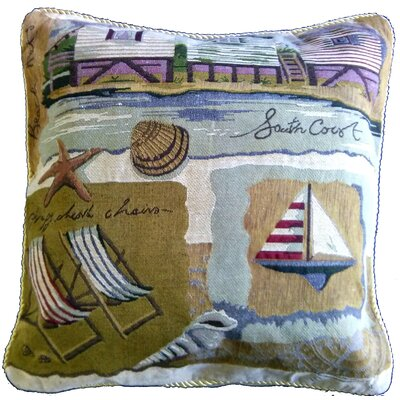 Summer By the Seaside Pillow Case