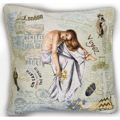 Parisian Model Pillow Case