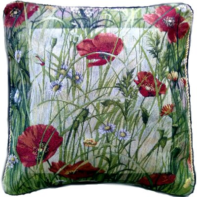 Poppy Field Pillow Case