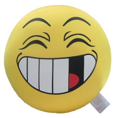 Oopsy Daisy Expressive Face Indoor/Outdoor Throw Pillow
