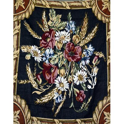 Floral Harvest Tapestry Throw Blanket