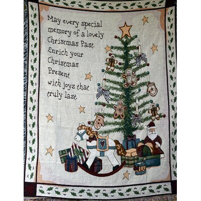 Christmas Morning Tapestry Throw Blanket