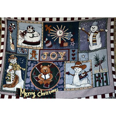 Wonderful Season Tapestry Throw Blanket