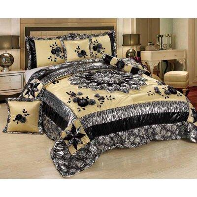Tache Home Fashion Winter Moon Comforter Set - Size: Full