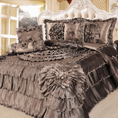 6 Piece King Comforter Set